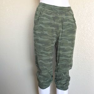 American Eagle Outfitters Camouflage Joggers Sz XS